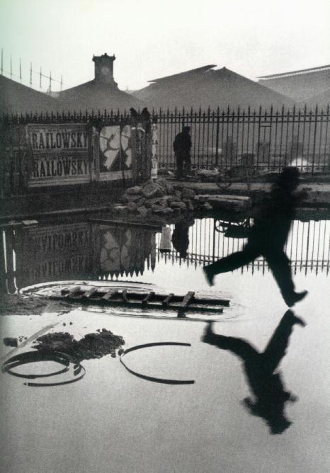 Henri Cartier-Bresson, Behind the Gare St. Lazare, 1932