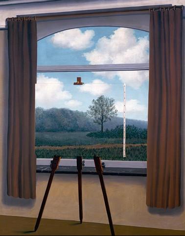 """""""La condition humaine"""" (1993) - René Magritte"""